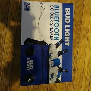 Accessories - Bud light Bluetooth cooler speaker